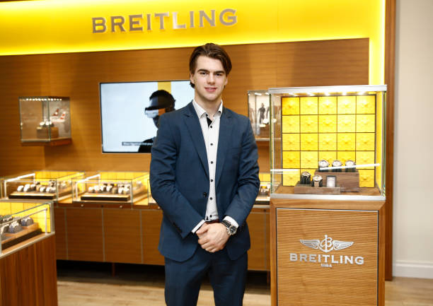 NJ: Breitling, W. Kodak Jewelers Ambassador And New Jersey Devils Player And Breitling Ambassador Nico Hischier Celebrate The All-New Breitling Avenger Collection Of Watches At An Exclusive Event In New Jersey