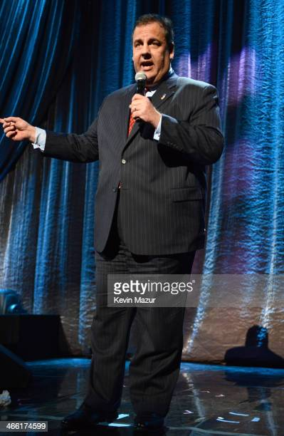 New Jersey Governor Chris Christie attends 'Howard Stern's Birthday Bash' presented by SiriusXM produced by Howard Stern Productions at Hammerstein...