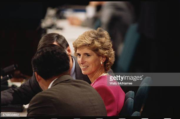 new jersey governor christine todd whitman - governor stock pictures, royalty-free photos & images