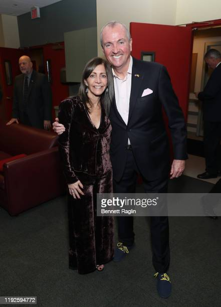 New Jersey Governor Phil Murphy and wife Tammy Murphy attends the Montclair Film Presents: An Evening With Stephen Montclair Film Presents: An...