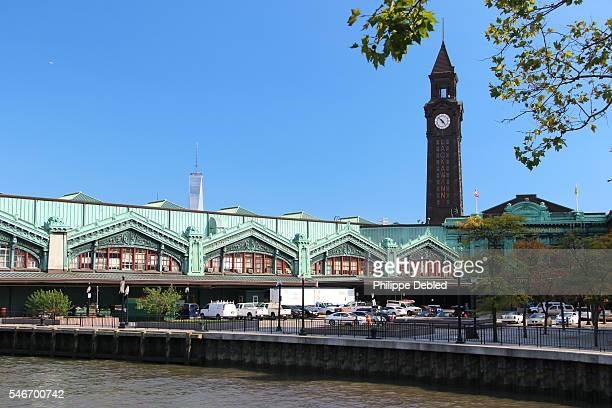 USA, New Jersey, Hoboken, The Erie-Lackawanna Rail road and Ferry Terminal