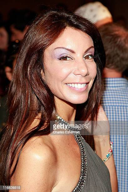 New Jersey Housewife Danielle Staub attends the finale of Bravo's 'The Fashion Show' at Cipriani Wall Street on June 26 2009 in New York City