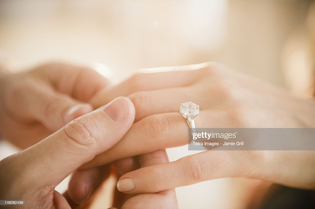 Wedding ring on which hand in usa