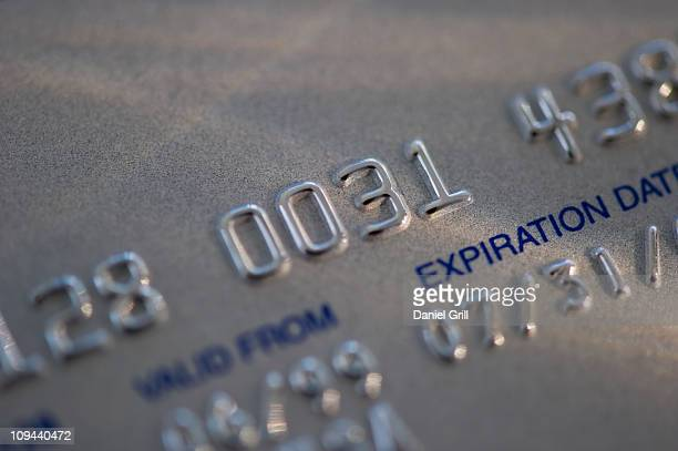 USA, New Jersey, Jersey City, Close-up view of credit card