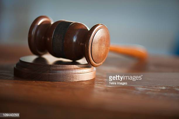 USA, New Jersey, Jersey City, Judges gavel
