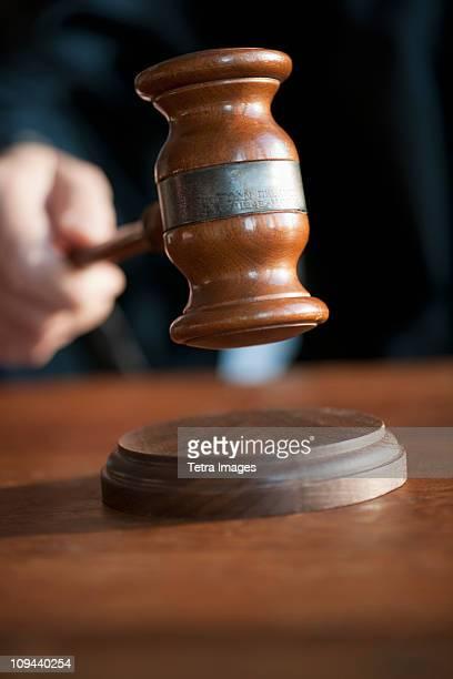 USA, New Jersey, Jersey City, Judges gavel