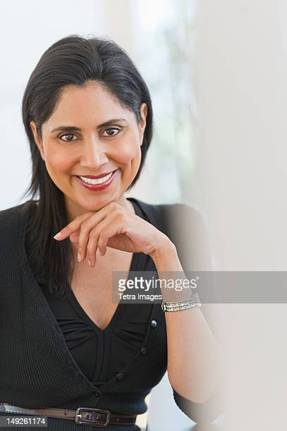 USA, New Jersey, Jersey City, Portrait of businesswoman