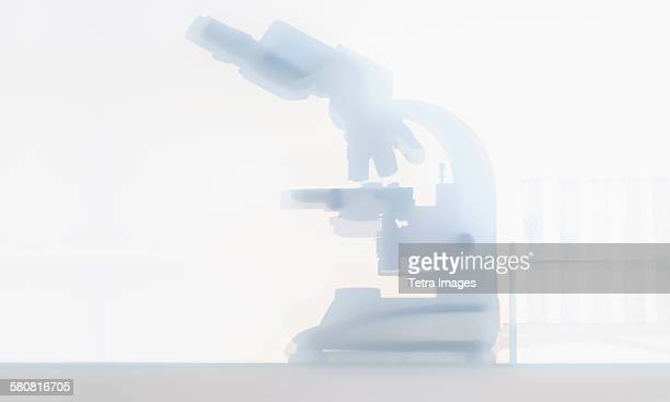 USA, New Jersey, Laboratory microscope