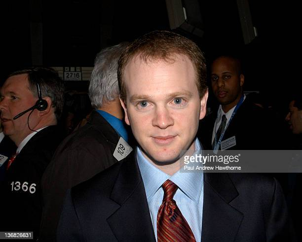 New Jersey Nets Head Coach Lawrence Frank on the floor of the NYSE prior to ringing the opening bell February 26 2004