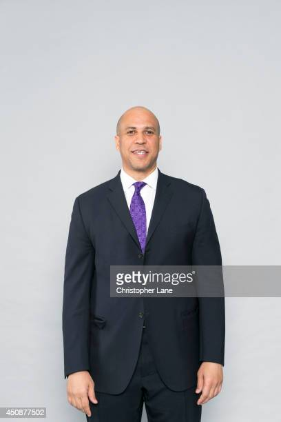 New Jersey senator Cory Booker is photographed for Self Assignment on March 19 2014 in Franklin Lakes New Jersey