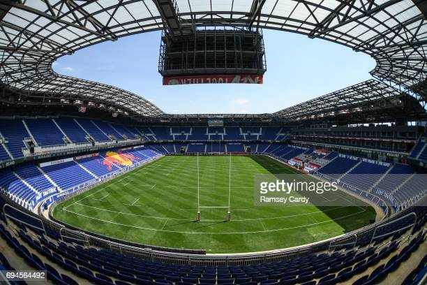New Jersey United States 10 June 2017 A general view of the Red Bull Arena ahead of the international match between Ireland and USA at the Red Bull...