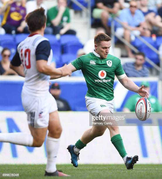 New Jersey United States 10 June 2017 Rory Scannell of Ireland during the international match between Ireland and USA at the Red Bull Arena in...