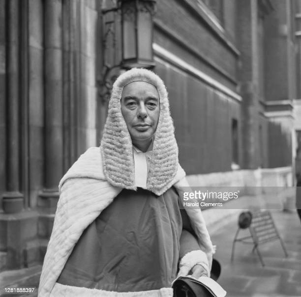 New judge Mr Justice Patrick McCarthy O'Connor UK 30th July 1966