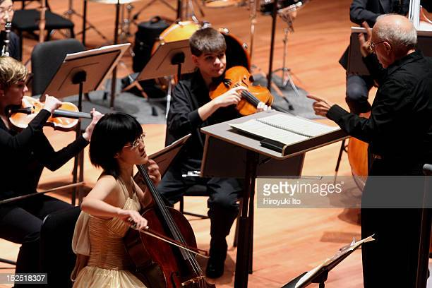 """New Juilliard Ensemble in a program """"Composers Living and Working in China Today"""" at Alice Tully Hall on Monday night, November 9, 2009.The concert..."""
