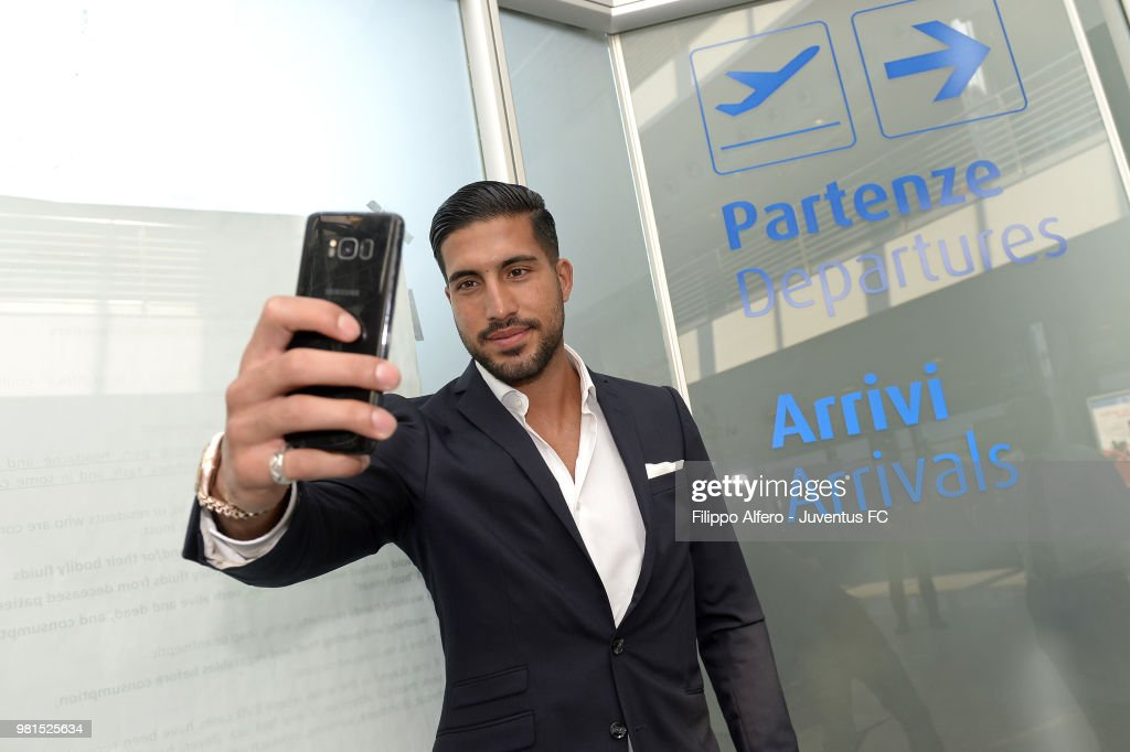 New Juventus Signing Emre Can Arrives In Turin