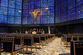 new kaiser wilhelm memorial church interior