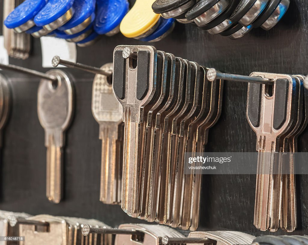 new key blanks : Stock-Foto