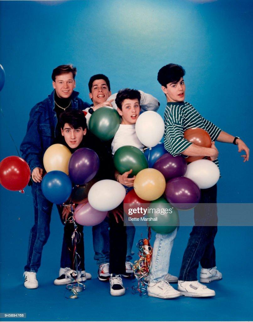 New Kids on the Block, Teen Beat, 1988 : News Photo