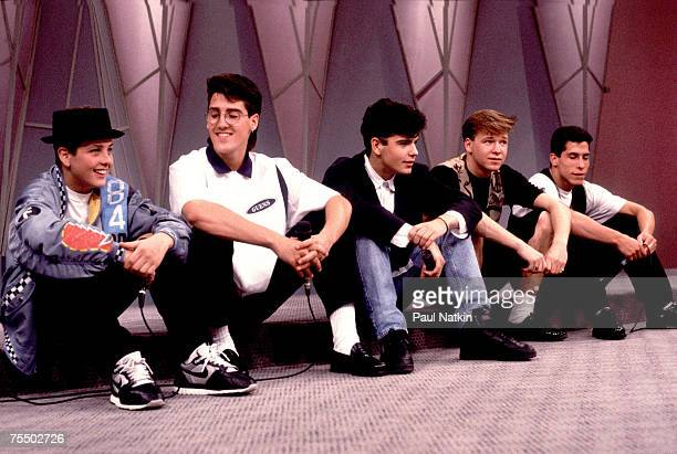 New Kids on the Block on 11/14/90 in Chicago Il in Various Locations