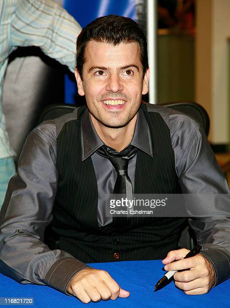 New Kids on the Block's Jordan Knight attend a CD signing of The Block at Best Buy on Fifth Avenue on September 2 2008 in New York City