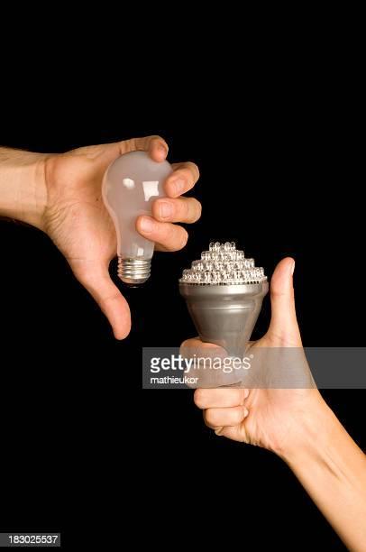 A new LED energy saving argument concept