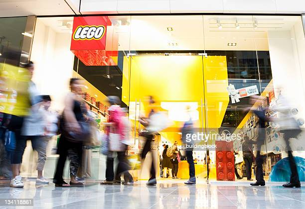 new lego store in westfield shopping centre - lego stock pictures, royalty-free photos & images