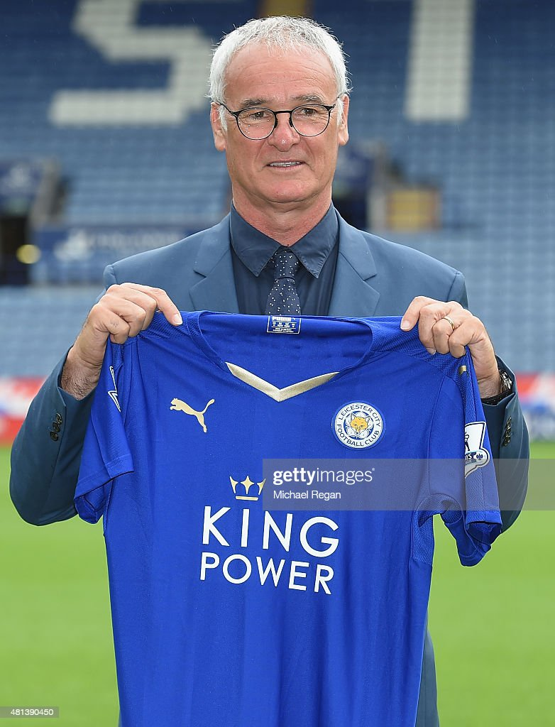 Leicester City Press Conference : News Photo