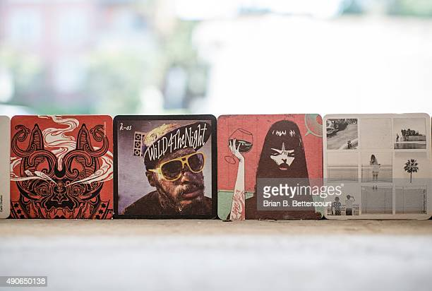 New Leslieville wine bar Corks Platters' decor is made up of owner Krista Pollett's personal art that features paintings art coasters and respurposed...