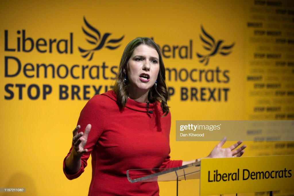 Liberal Democrats Announce New Party Leader : News Photo