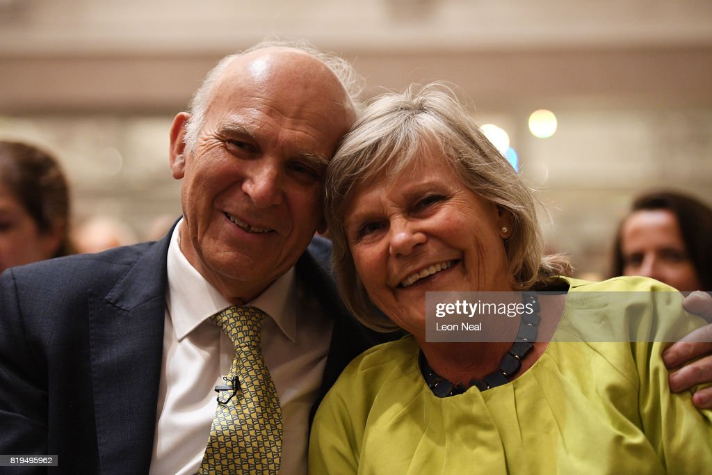 Vince Cable Is Announced As The New Leader of The Liberal Democrat Party