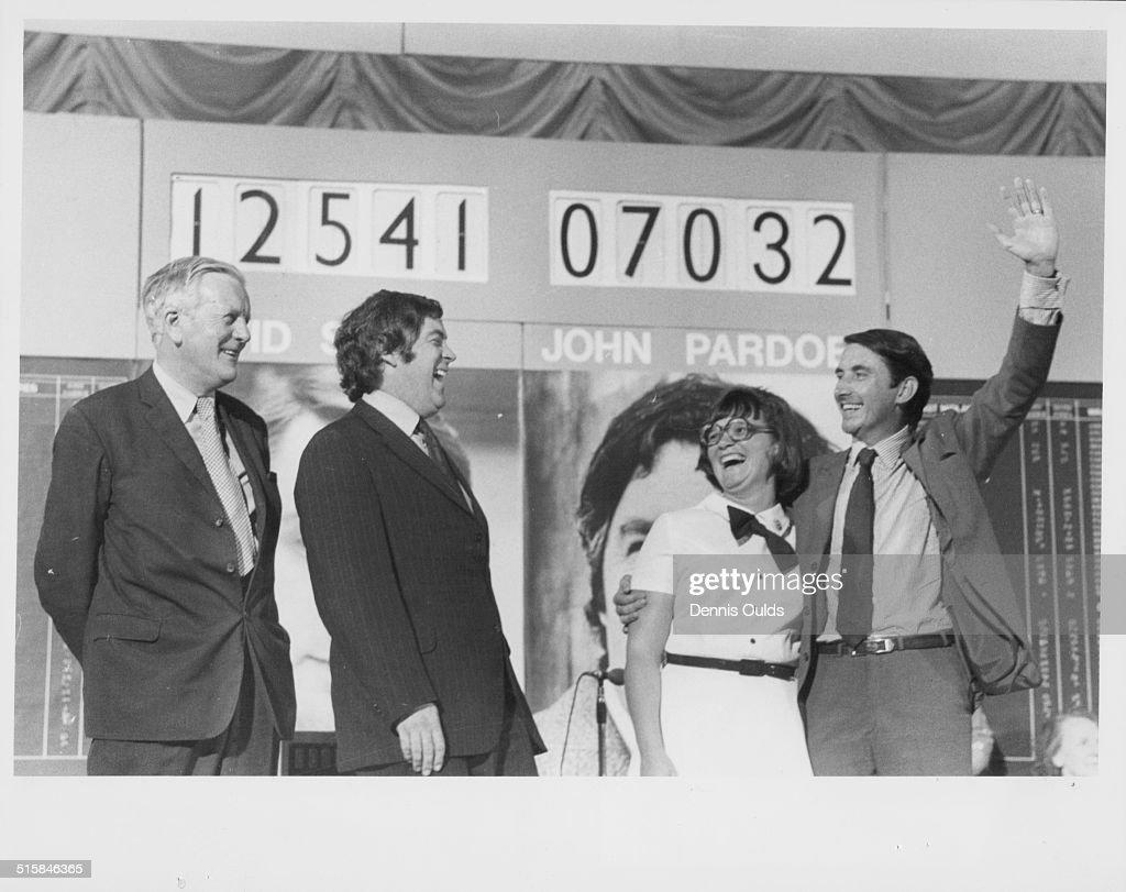 David Steel And Wife : News Photo