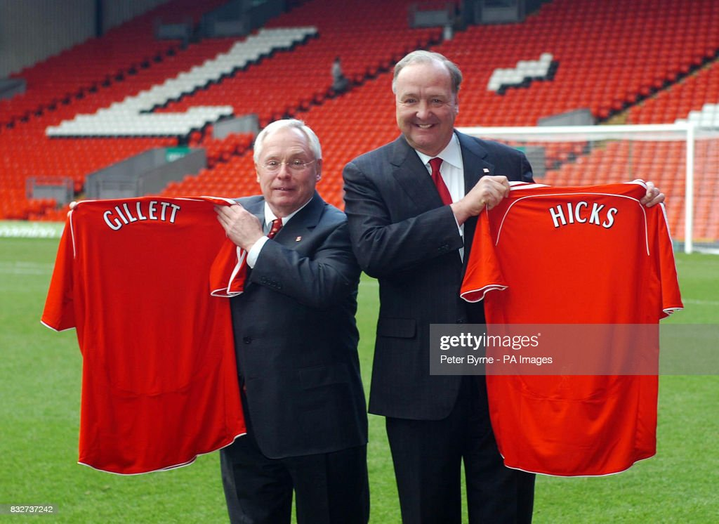 Soccer - Liverpool takeover press conference - Anfield : News Photo