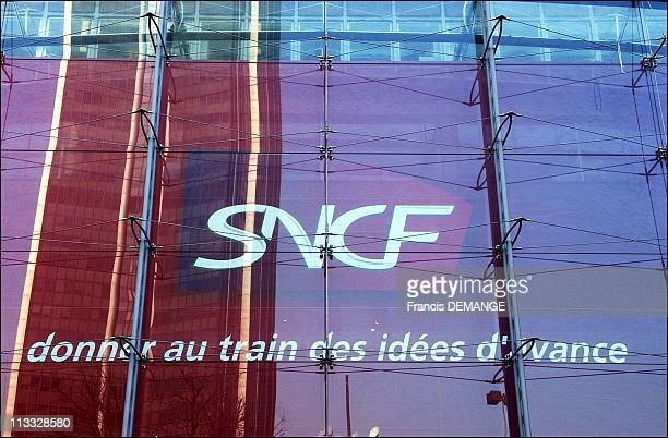 New Logo'Sncf' On March 18Th 2005 In Paris France