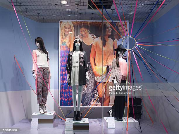 New Look London window display 2014 as Part of the World Fashion Window Displays on June 19 2014 in London United Kingdom