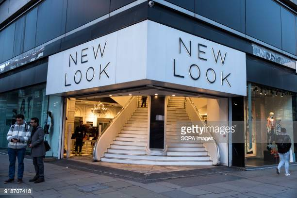 New Look store seen in London famous Oxford street Central London is one of the most attractive tourist attraction for individuals whose willing to...