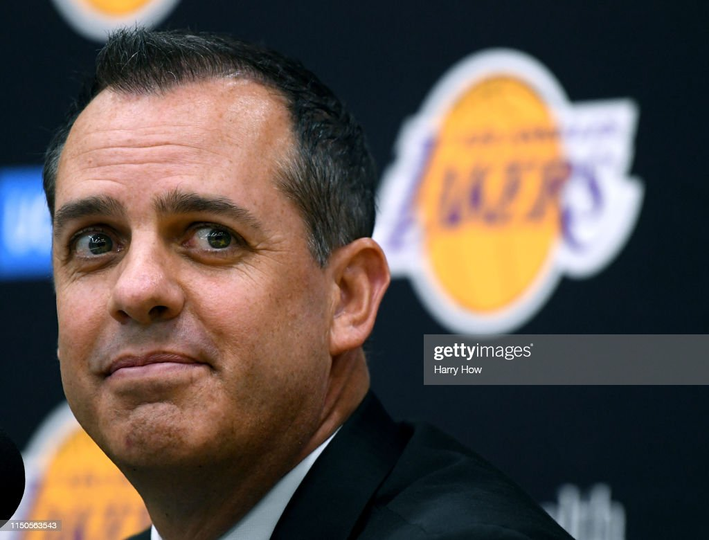 CA: Los Angeles Lakers Introduce Frank Vogel