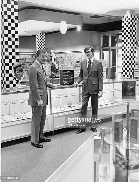 MAY 22 1972 MAY 23 1972 MAY 24 1972 New Magnin Managers on Duty in Denver Ben Orlady left newly appointed general manager for the Joseph Magnin...