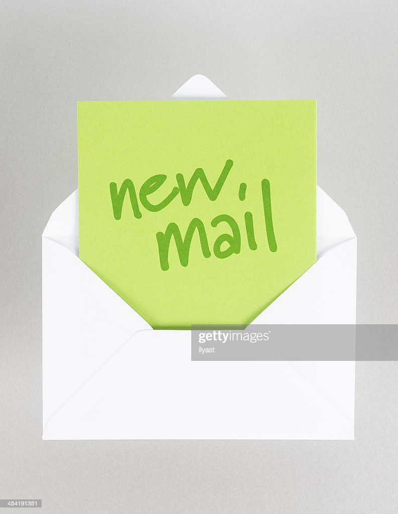 New Mail : Stock Photo