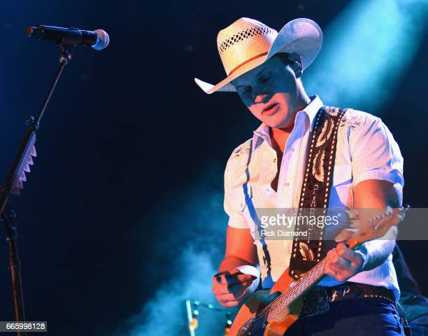 ACM new male vocalist Singer/Songwriter Jon Pardi performs Day 2 Country Thunder Music Festival Arizona on April 7 2017 in Florence Arizona