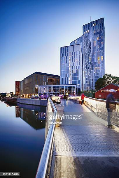 new malmolive hotel and congress centre - malmo stock pictures, royalty-free photos & images