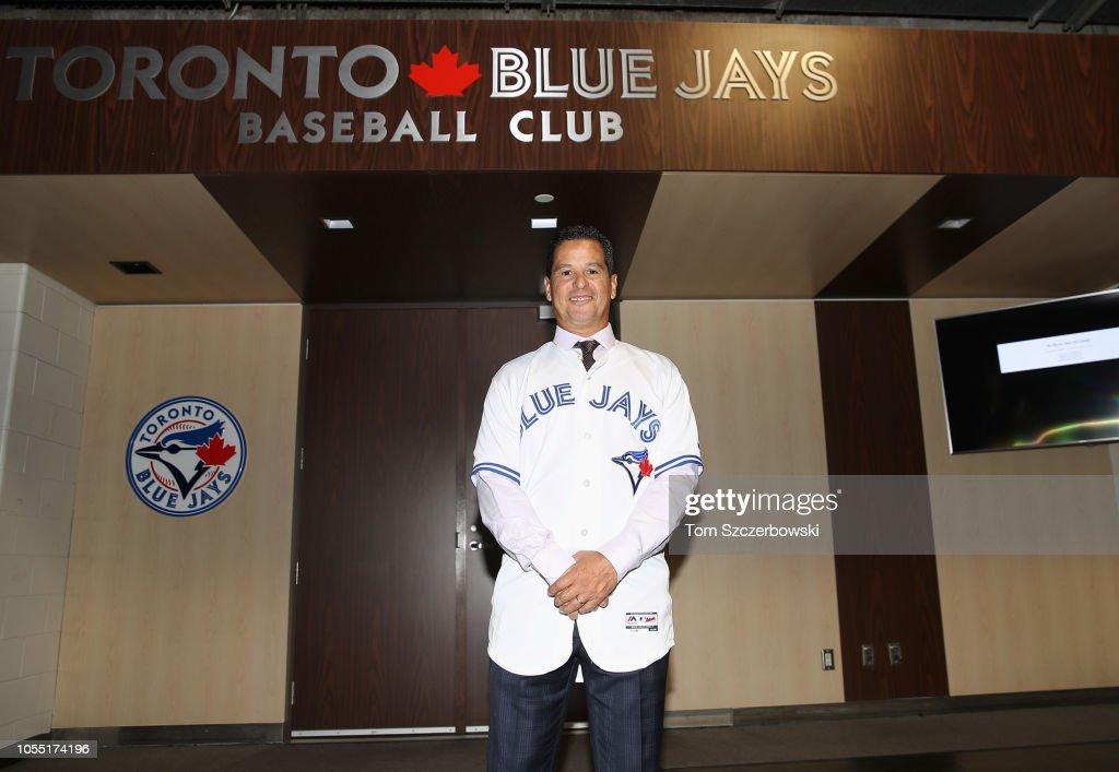 Toronto Blue Jays Introduce Charlie Montoyo : News Photo