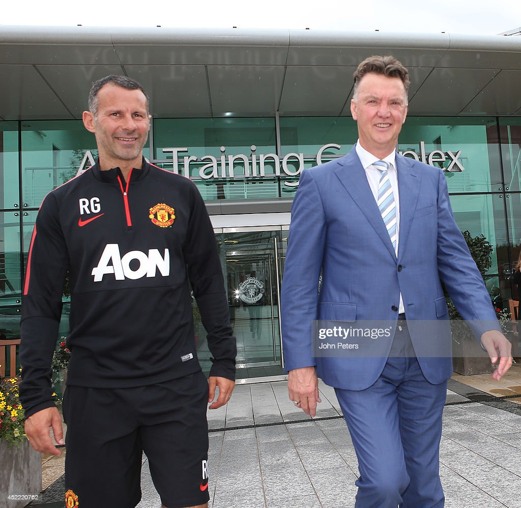 Louis Van Gaal Starts Role As Manchester United Manager : News Photo