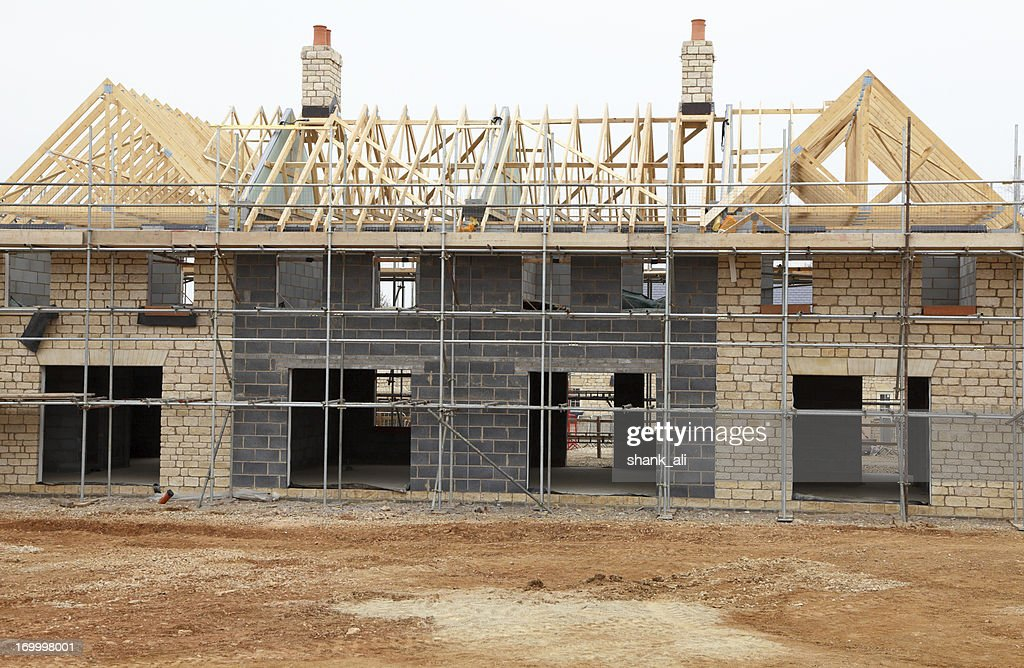 Neue mansion : Stock-Foto