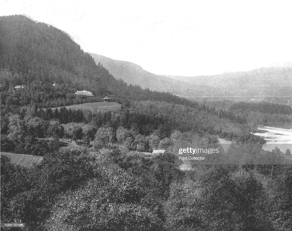 New Mar Lodge, Braemar, Scotland, 1894  Estate in the