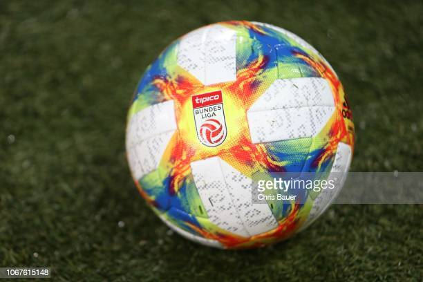 New matchball of the tipico Bundesliga during the tipico Bundesliga match between SK Sturm Graz and Wolfsberger AC at Merkur Arena on December 02,...