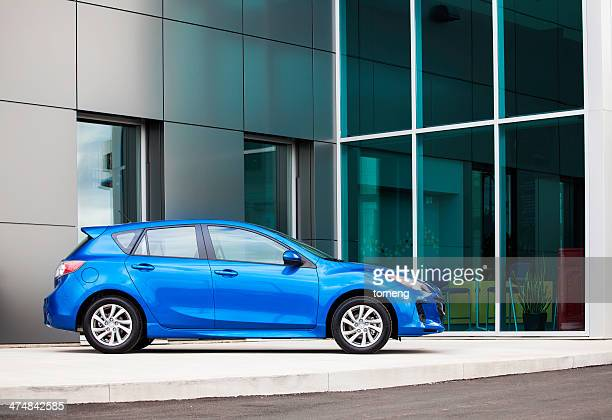 new mazda 3 hatchback - 2013 stock pictures, royalty-free photos & images