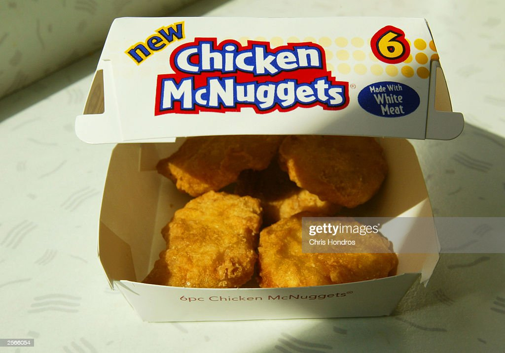 McDonald's Introduces New McNuggets : News Photo