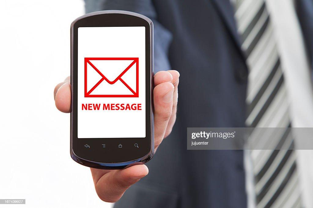 new message : Stock Photo