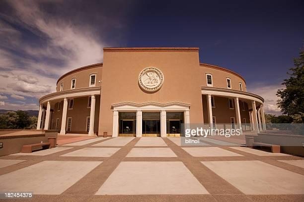 ニューメキシコ州議会議事堂の santa fe - 州議会議事堂 ストックフォトと画像