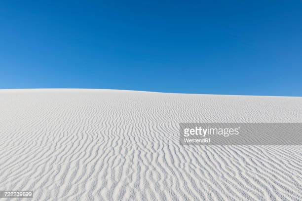 USA, New Mexico, Chihuahua Desert, White Sands National Monument, desert dune